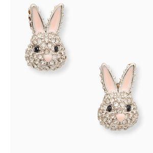 Kate Spade bunny studs